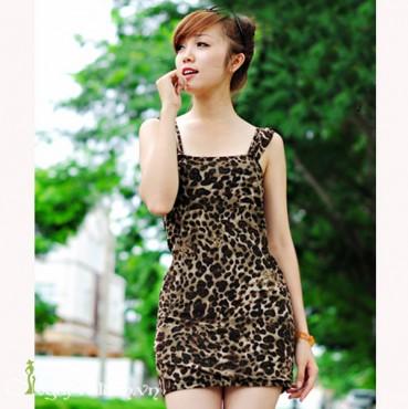 Đầm Thun Da Beo