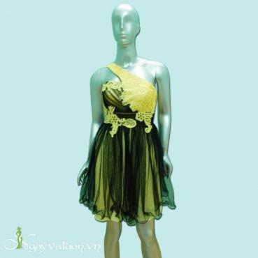 Đầm Dạ Hội Chéo Vai