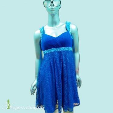 Đầm Dạ Hội Phối Ren