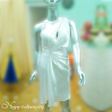 Đầm Dạ Hội Lệch Vai