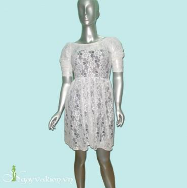 Đầm Dạ Hôi Tay Dài