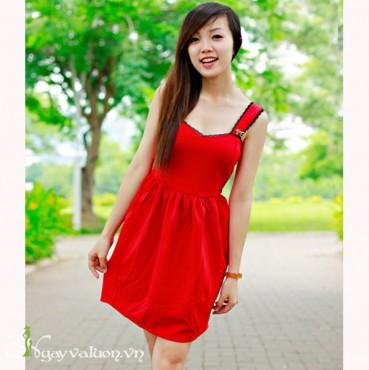 Váy Đỏ Noel