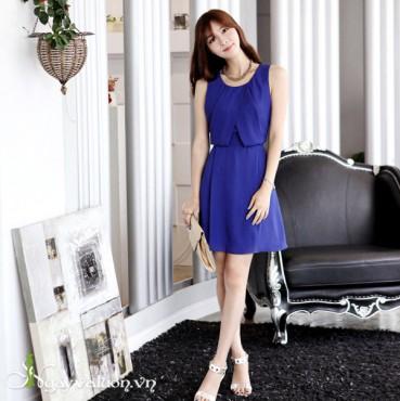 Đầm tơ hàn quốc